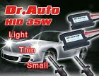 UK 35/55W 12V H1 3 4 7 4300K 6000K 10000K Slim Ballast Xenon HID Conversion Kit
