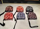 Fancy animal print decorated tape measure choice zebra cheetah leopard more