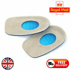 SILICONE GEL HEEL PAIN RELIEF CUSHION SUPPORT RELIEF FASCITIS PLANTAR PAD INSERT