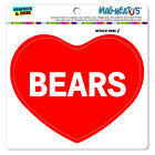 MAG-NEATO'S™ Car Refrigerator Vinyl Magnet I Love Heart Animals A-D