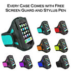 Sports Jogging Gym Running Armband Holder Case Cover Pouch For Motorola Moto E2