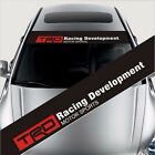 "TRD Decal Banner Sticker Front Rear Windshield 50""X 8"" fits TOYOTA"
