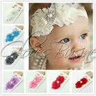 1pc Kids Baby Girls Toddlers Infant Flower Headband Hair Bow Band Accessories