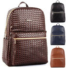 New Fashion Womens Travel bags Satchel Faux Leather Backpack School Bag Rucksack