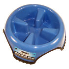 Skid Stop Slow Feed Bowl - Jw Pet Rubber Feet Slows Eating Aids Digestion Dog