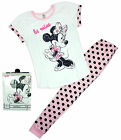 Womens Disney Minnie Mouse Polka Be Mine Gift Pack Pyjamas Plus Sizes 8 to 22