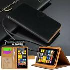 New Black Magnetic Flip Cover Stand Wallet Leather Case for Various Nokia Phones
