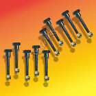 "10 Pack Snow Blower Shear Pins & Nuts For Honda Length: 1-29/32""Thread: M6 x 1.0"