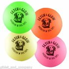 MEDIUM FETCH & GLOW BALL - Floats Water Glow in the Dark Non-Toxic Fetch Dog Toy