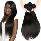 4 Bundles Brazilian Virgin Straight Human Hair Extensions 200g UK STOCK