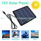 ECO 5W 10W 20W 100W Portable Solar Panel Battery Charge Backup Camp Power 12V