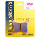 KTM SXF250 250 SXF 2005-2016 SBS 791SI Sintered Competition Rear Brake Pads