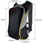 6.5W Solar Panel Backpack for  Outdoor Sports Hiking Riding Charge smartphone
