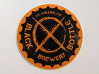 Beer STICKER ~*~ BLACK BOTTLE Brewing Company ~*~ Ft Collins, COLORADO Brewery