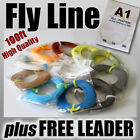 FLY FISHING - 3wt / 100ft FLY LINE ready for rod & reel weight Forward