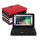 "iRULU 7"" Tablet PC 3G Unlock Phablet 8GB Android 5.1 GPS Bluetooth w/ Keyboard"