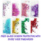 Liquid Glitter Bling Floating Stars Case Cover Novelty Colourful Fits iPhone