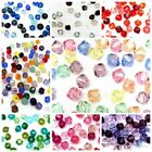 50 Swarovski 5328 Crystal Xilion Bicone Beads MIXED COLOUR *Pick Size & Colour*