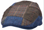 TRADITIONAL ENGLISH FLAT CAP  Patches Style Classic Flat Hat