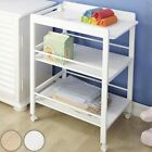 Baby Changing Unit Station Trolley Table Storage Nursery Room Bedroom Furniture
