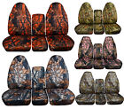 1993-1998 Ford F Series 40/20/40 Seat Covers 17 Different Camouflage Designs