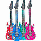 """Inflatable Rock Electric Guitar Party Decoration Fancy Dress costume 42"""" long"""