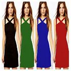 Night Out Club Party Sheath Bodycon Slim Fit Curve Hugging Cocktail Short Dress