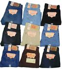 Levis 501 Jeans Button Fly Mens Authentic Many Colors Many Sizes New With Tags!!