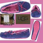 UGG Mandie INK BLOT Sheepskin MOCCASIN SLIPPERS Size:US:8  NEW