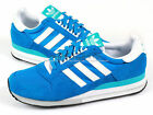 Adidas Originals ZX 500 Pool/White/Super Cyan Sports Heritage Casual 2012 V24588