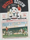 MANCHESTER UNITED HOME PROGRAMMES 1983~84  ~ YOU CHOOSE OPPONENTS FREE POSTAGE