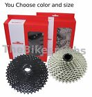 SunRace CSMS8 11 Speed 11-36/ 40/ 42/ 46 Black/Silver Cassette fit Shimano SRAM