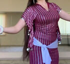 New Egyptian Belly Dance Costume Saidi Dress Baladi Galabeya Fallahi Abaya