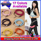 HQ Fashion Cute Buckle Woman Lady Girl Candy Color Thin Skinny PU Leather Belt