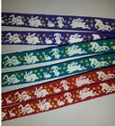 Beastie Band Cat Collars - =^..^= Purrfectly Comfy - BUNNIES AND FLOWERS