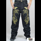 2016 spring summer new hip-hop cotton jeans increase loose pants