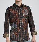 """Robert Graham Limited Edition """"Fulton"""" Embroidered Shirt L $540 Only 311 Made"""