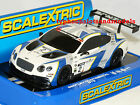 SCALEXTRIC C3515 Bentley Continental GT3 - Generation Bentley Racing - New