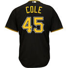 Majestic Athletic Pittsburgh Pirates Gerrit Cole 2015 Cool Base Alternate Jersey