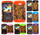 KoolKase Hybrid Silicone Cover Case for HTC One X S720e - Camo Mossy 11
