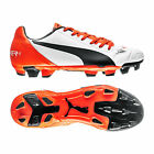 Puma EvoPower 4.2 FG Junior Kids Football Boots Shoes New