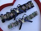 * NEW Mossy Oak Camouflage Camo Navy Wedding Garter Prom GetTheGoodStuff Deer