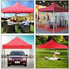 New 9.5 x 9.5ft Ancheer Folded Portable Event Canopy Tent Yard Garden Red, Blue