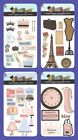 *PROVO CRAFT* CARDSTOCK STICKERS BIRTHDAY BEAUTY QUEEN BON VOYAGE SHOPPING QUEEN