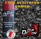 DIP DEMON REEPER SKULLS HYDROGRAPHIC FILM ACTIVATOR COMBO KIT HYDRO DIP DIPPING