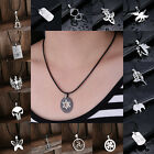 New Women Men Pendant Necklace Chain Stainless Steel Retro Fashion Jewelry Gifts