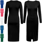 Women V Neck Slim Bandage Dress Clubwear Long Sleeve Sexy Cocktail Party Dress