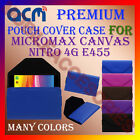 ACM-PREMIUM POUCH LEATHER CARRY CASE for MICROMAX CANVAS NITRO 4G E455 COVER NEW