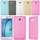 Shockproof Silicone Gel Rubber Slim Cube Back Case Cover Skin For Samsung Galaxy