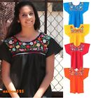 Внешний вид - Mexican Blouse Puebla Hand Embroidered Assorted Sizes and Colors